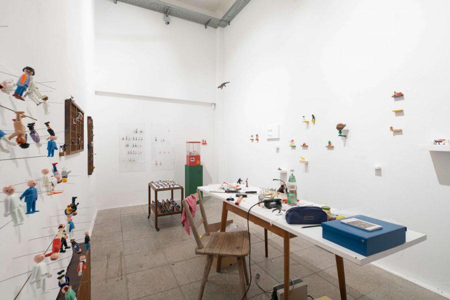 Volkspark Galerie | Raum 2 | 2018 | Foto: Phillip Hiersemann